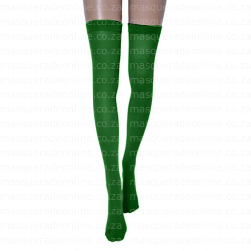 Masquerade Green Stockings