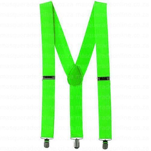 Masquerade neon Suspenders