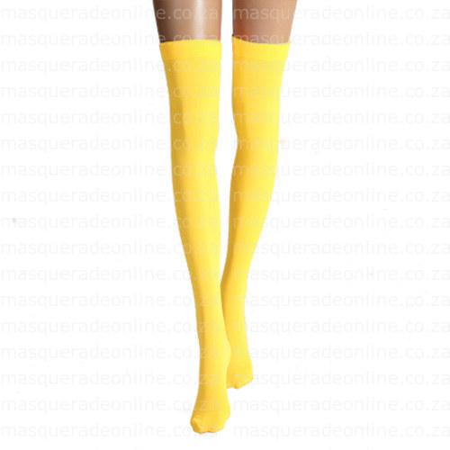 Masquerade Thigh High Stockings