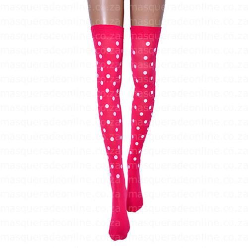 Masquerade Polka Dot Stockings