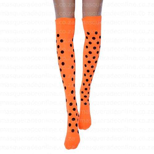 Masquerde Polka Dot Stockings