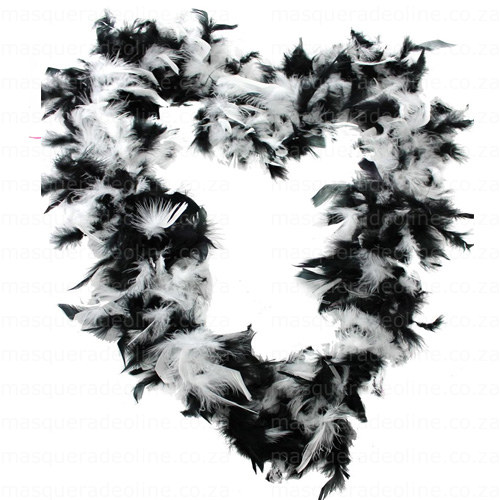 Masquerade mix Feather Boa