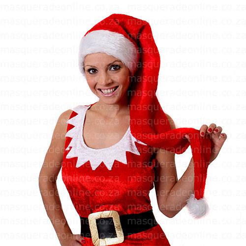 Masquerade Long Christmas Hat