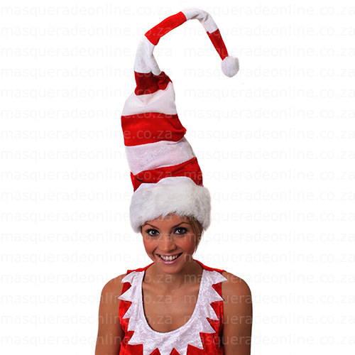 Masquerde Stripe Christmas Hat
