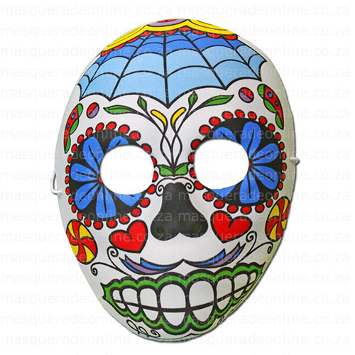 Masquerade Day of the Dead Mask