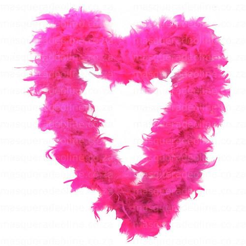 Masquerade Pink Feather Boa