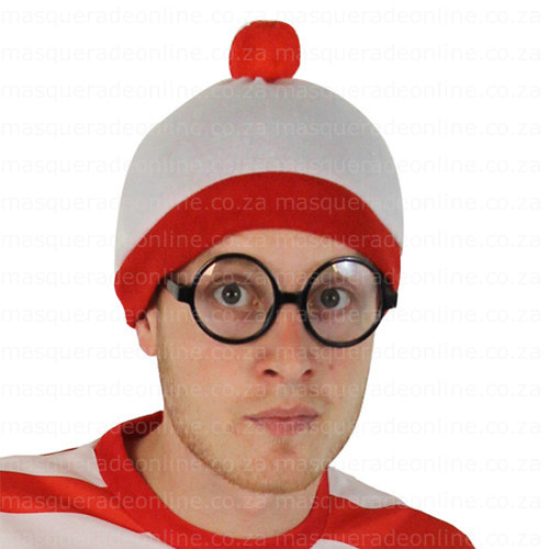 Masquerade Where's Wally Hat