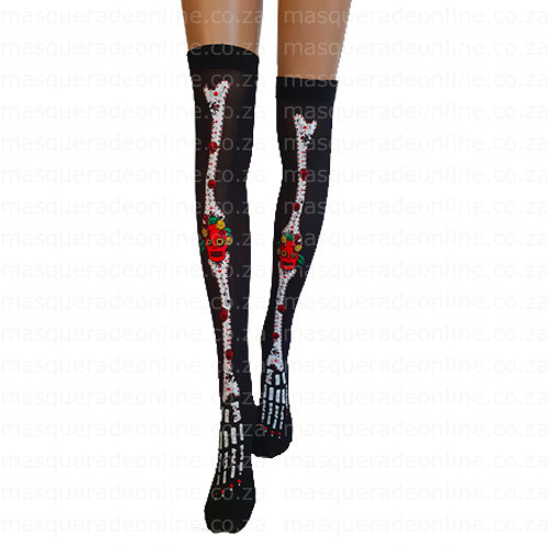 Masquerade Mexican Thigh Highs