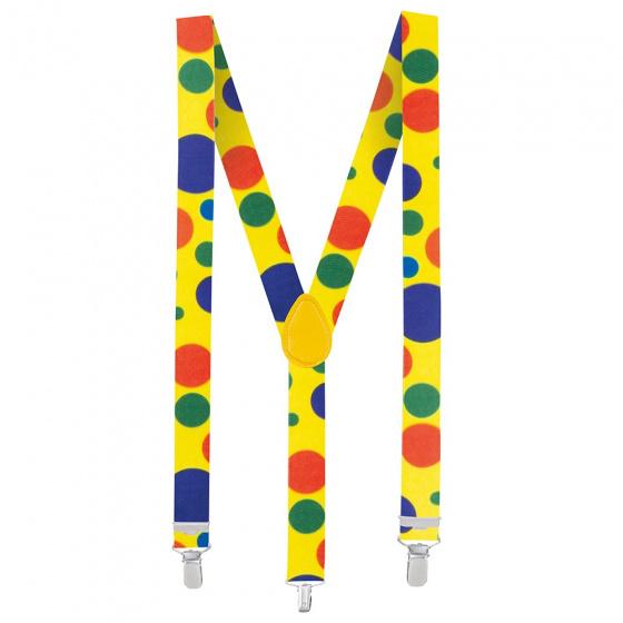 Clown Polka Dot Suspenders