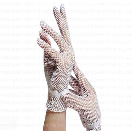 Masquerade Fishnet Gloves
