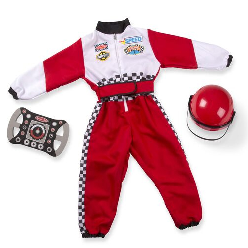 Masquerade Car Race Driver Costume