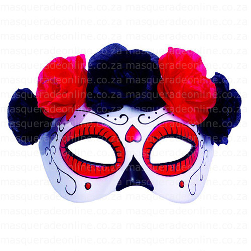 Masquerade Day of Dead Mask