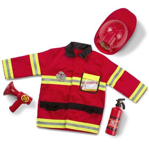 Masquerade Fireman Costume