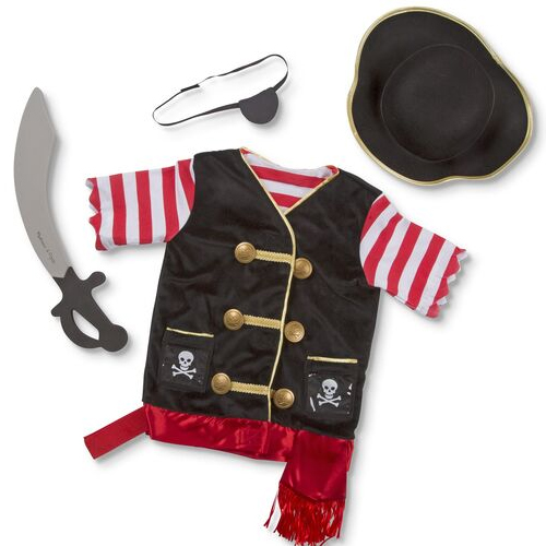 Masquerade Pirate Costume