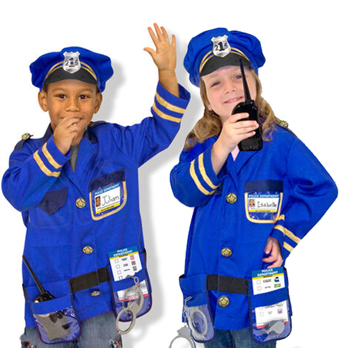 Masquerade Police Costume