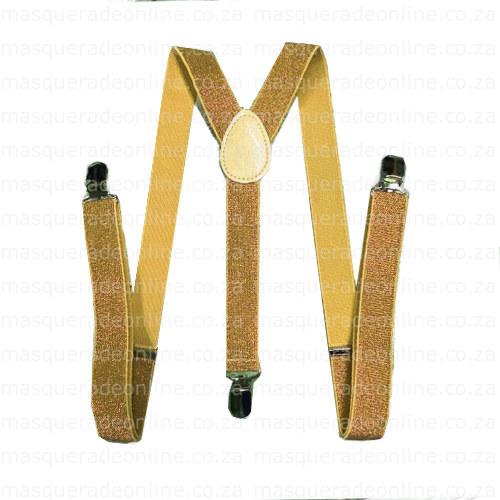 Masquerade Glitz Suspenders