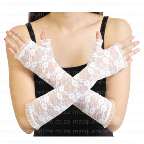 Masquerade Lace Gloves