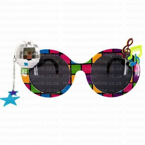 Masquerade Disco Glasses