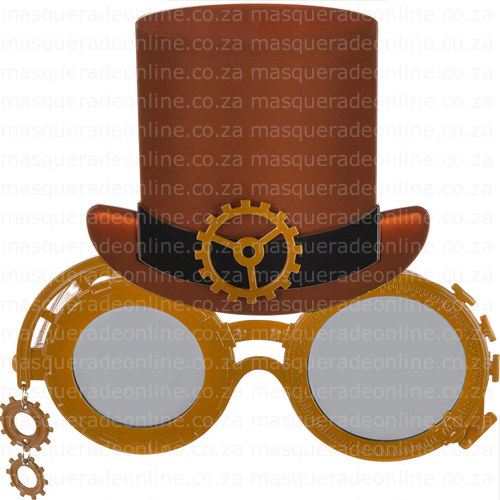 Masquerade Steam Punk Glasses