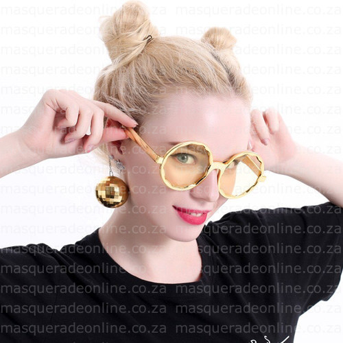 Masquerade Disco Ball Earrings