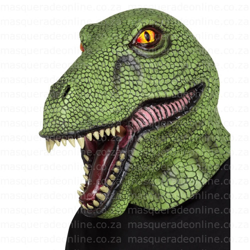 Masquerade Dinosaur Latex Mask