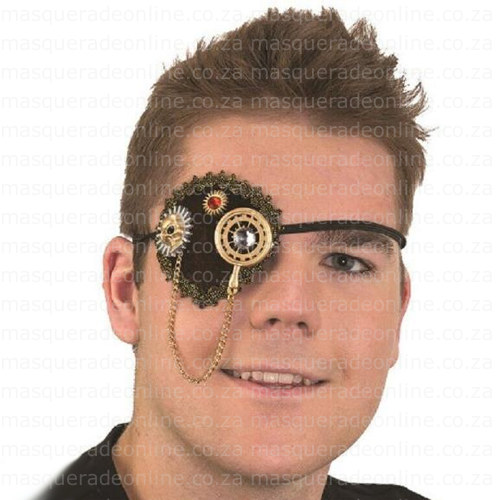 Masquerade Steam Punk Eye Patch