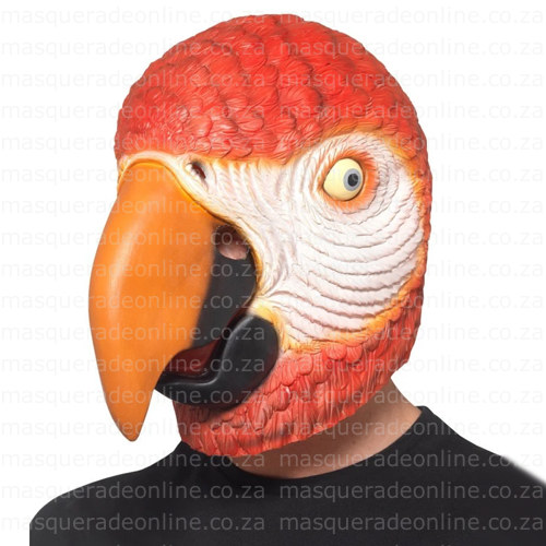 Masquerade Parrot Latex Mask