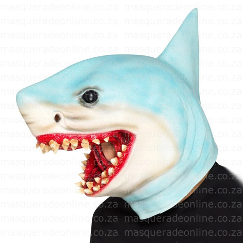 Masquerade Latex Shark Mask