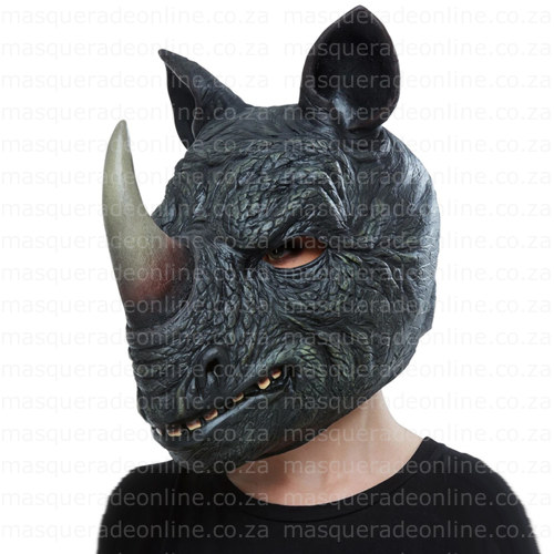 Masquerade Rhino Latex Mask