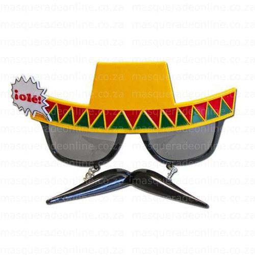 Masquerade Sombrero Sunglasses