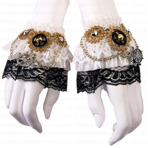 Masquerade Wrist Cuffs