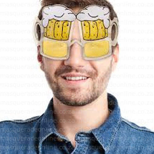 Masquerade Beer Glasses