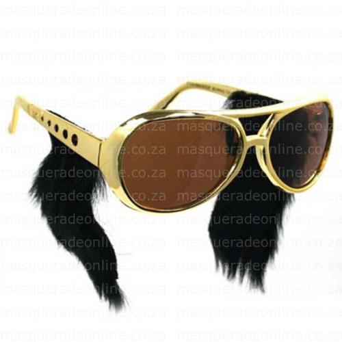 Masquerade Elvis Glasses