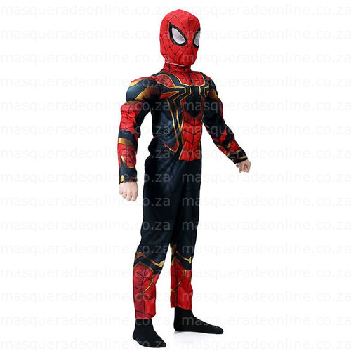 Iron Spiderman Masquerade Costume Hire