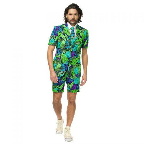 Summer Jungle Suit Masquerade Costume Hire
