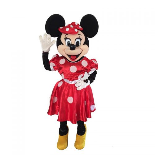Minnie Mascot Masquerade Costume Hire