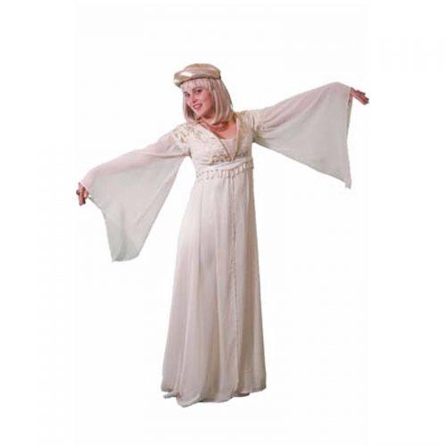 Medieval Cream Outfit Masquerade Costume Hire