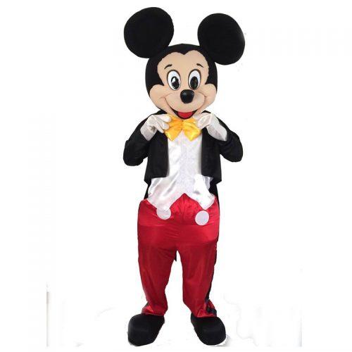 Mickey Mascot Masquerade Costume Hire