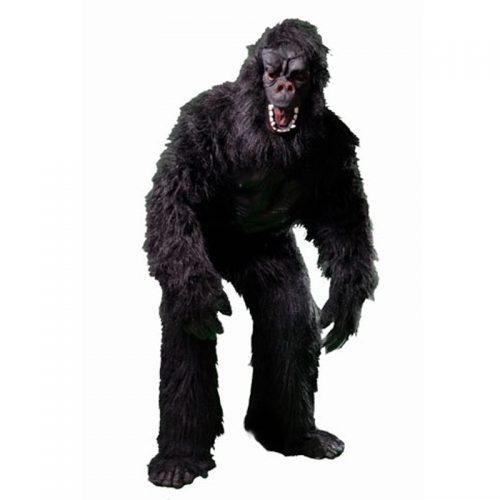 Gorilla Mascot Masquerade Costume Hire