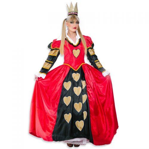 Queen of Hearts Masquerade Costume Hire