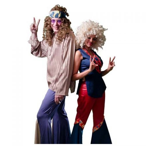Hippie Couple Masquerade Costume Hire