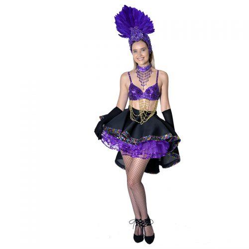 Carnival Girl Masquerade Costume Hire