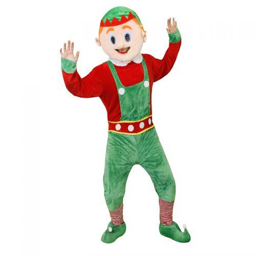 Elf Mascot Masquerade Costume Hire