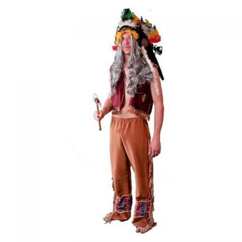 Red Indian Costume Masquerade Costume Hire