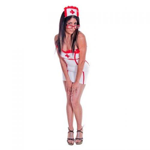 Sexy Nurse Masquerade Costume Hire