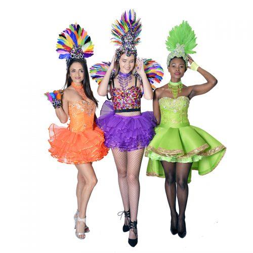 Carnival Girls Masquerade Costume Hire