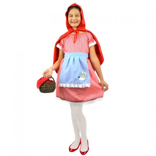 Girls Red Riding Hood Masquerade Costume Hire