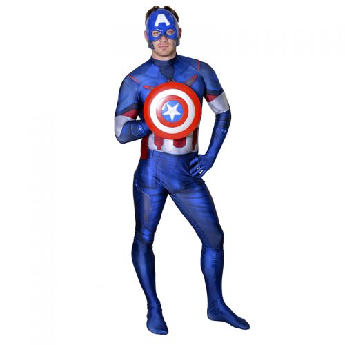Captain America Masquerade Costume Hire