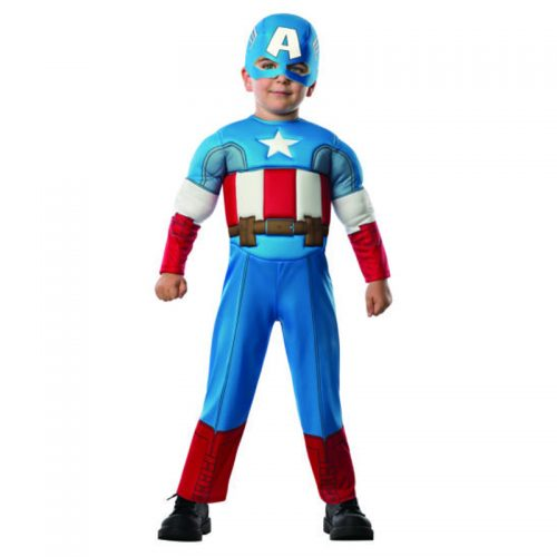 Kids Captain America Masquerade Costume Hire