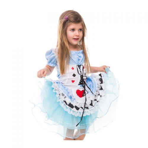 Kids Alice in Wonderland Masquerade Costume Hire